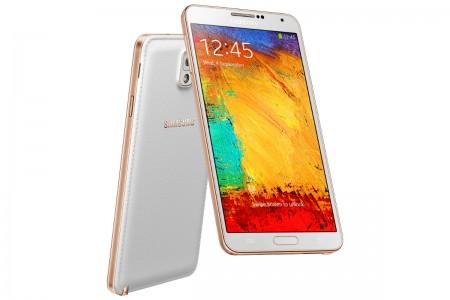 Samsung Galaxy Note 3 - białe złoto [źródło: Samsung]