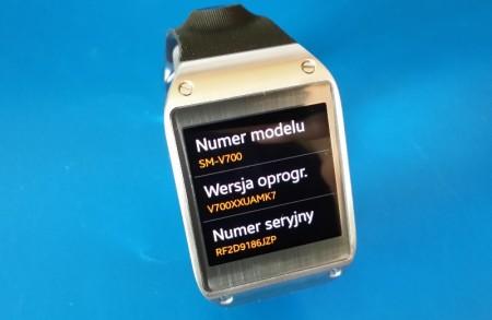 Samsung Galaxy Gear - V700XXUAMK7 [źródło: galaktyczny.pl]