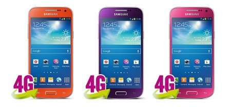 Sasmung Galaxy S 4 mini - nowe kolory [źródło: Carphone Warehouse]