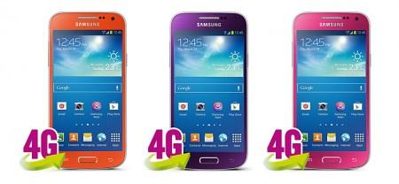 Sasmung Galaxy S 4 mini - nowe kolory [źródło: Carphone Warehouse]