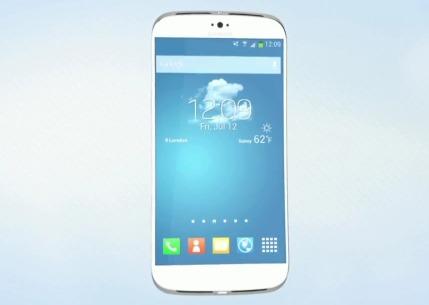 Samsung Galaxy S 5 - Koncept [źródło: O2 Guru TV]