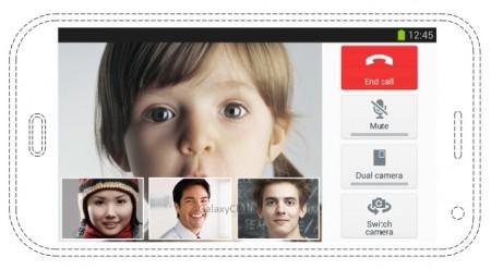 Samsung Galaxy S 5 wideo+konferencja [źródło: GalaxyClub]