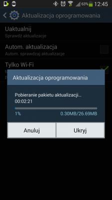 Galaxy Note 3 - aktualizacja [źródło: galaktyczny.pl]