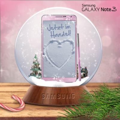Różowy Samsung Galaxy Note 3 [źródło: Samsung]