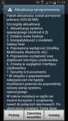 Android 4.3 Jelly Bean dla Galaxy S III 0 zmiany[źródło: galaktyczny.pl]