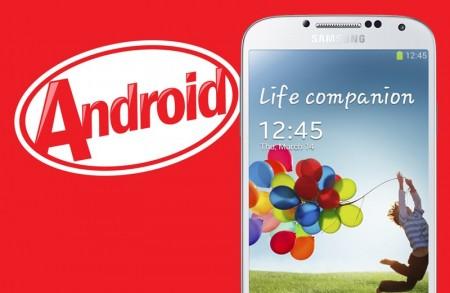 android 4 4 kitkat galaxy s4 450x293 Wyciekł Android 4.4.2 KitKat dla Samsunga Galaxy S 4
