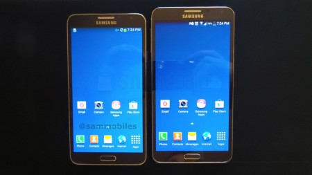 Galaxy Note 3 Neo i Galaxy Note 3 [źródło: SamMobile]