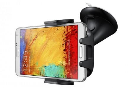 Samsung Galaxy Note 3 i uchwyt EE-V200 [źródło: Samsung]