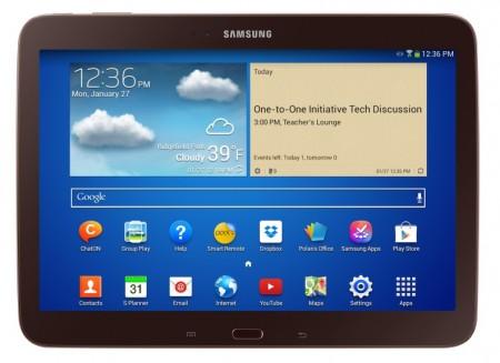 Samsung Galaxy Tab 3 10.1 [źródło: Samsung]