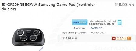Samsung Game Pad EI-GP20 [źródło: KOG]