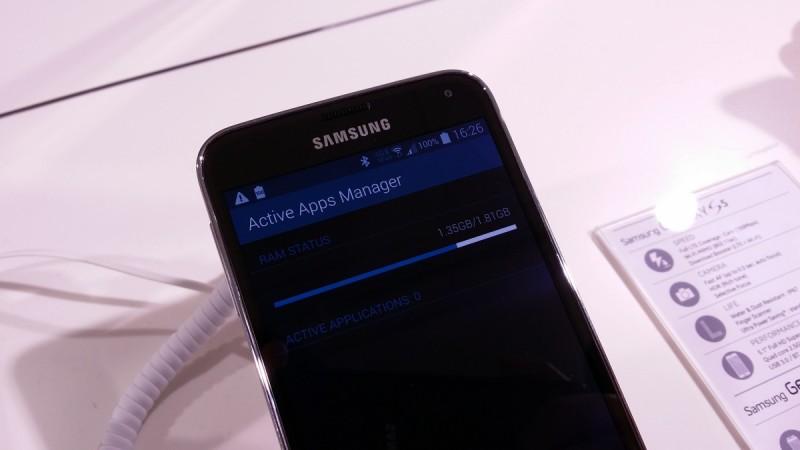 Samsung Galaxy S 5 - RAM