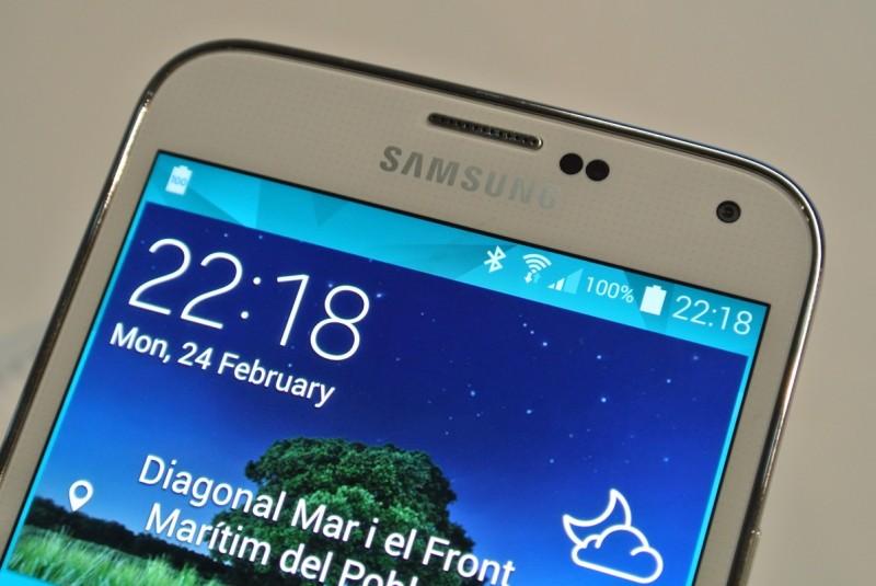 Samsung Galaxy S 5 - ekran