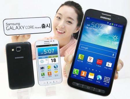 Samsung Galaxy Core Advance  [źródło: Samsung]