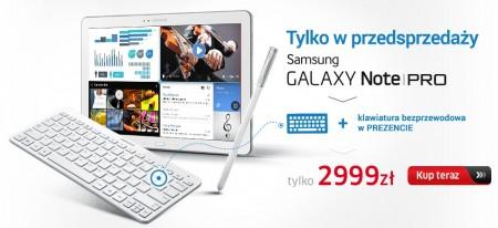 Galaxy Note PRO z klawiaturą BT  [źródło: X-KOM]