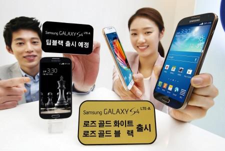 Nowe kolory Galaxy S 4 LTE-A [źródło: Flickr]