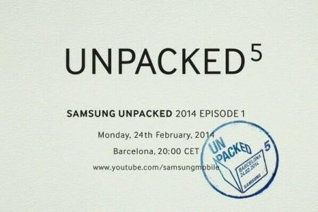 Mobile UNPACKED 2014 [źródło: Samsung Mobile]