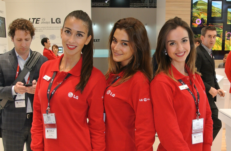 Hostessy z LG [źródło: galaktyczny.pl]