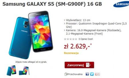 Samsung Galaxy S 5 [źródło: Alternate]