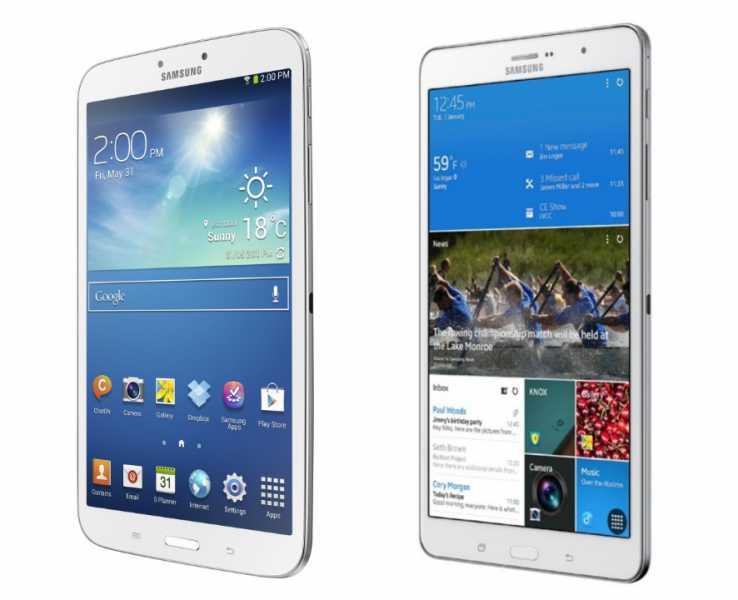 Galaxy Tab 3 i Galaxy Tab PRO 8.4