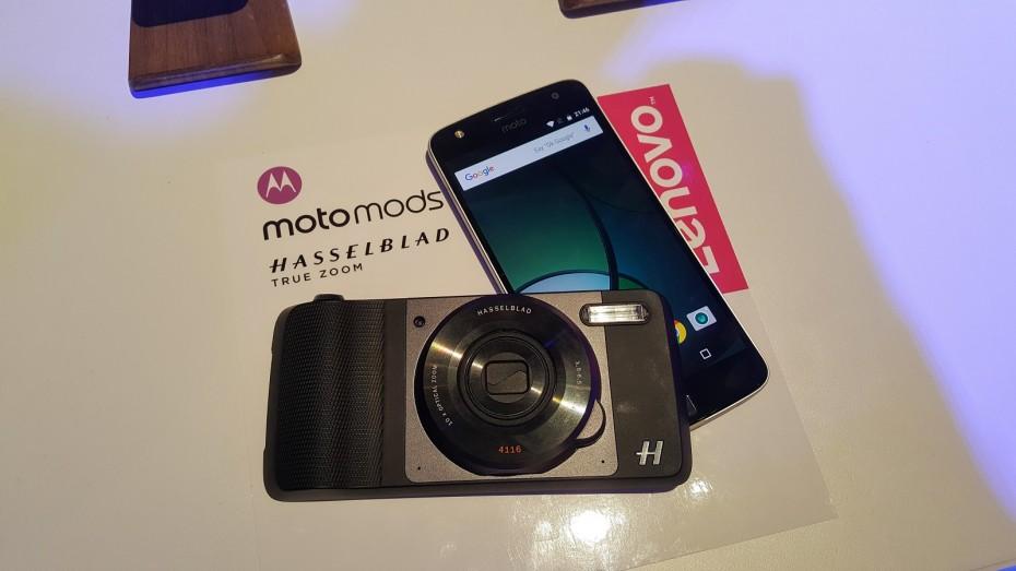 Moto Mods - moduł aparatu Hasselblad