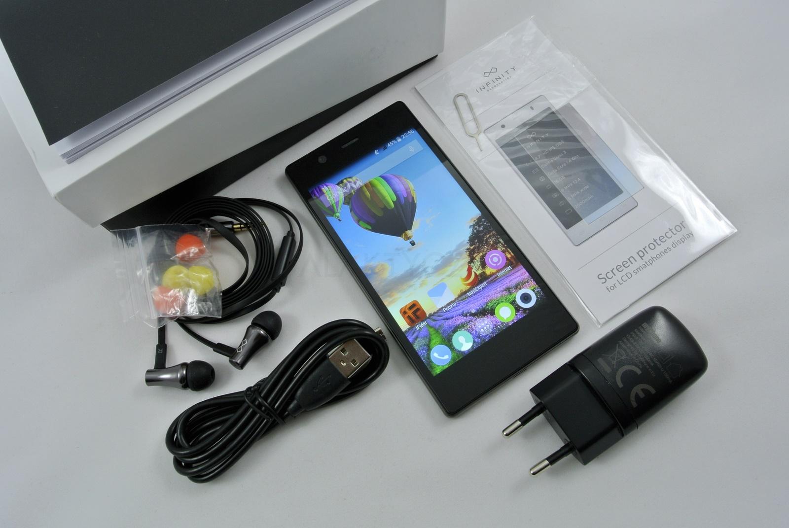 myPhone Infinity 3G - zestaw / fot. galaktyczny.pl