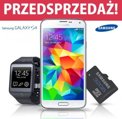 Przedsprzedaż Galaxy S 5 / fot. Allegro