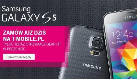 Samsung Galaxy S 5 w T-Mobile [źródło: T-Mobile]