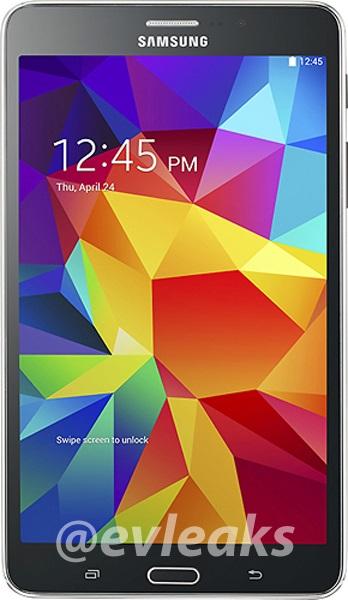 Samsung Galaxy Tab 4 7.0 / fot: evleaks