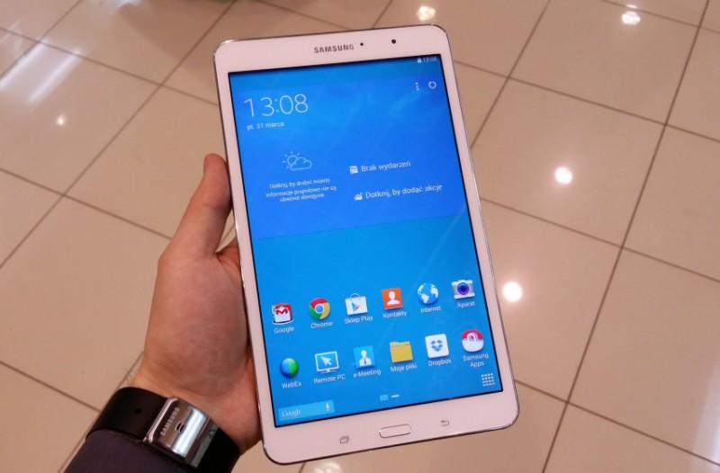 Samsung Galaxy Tab PRO 8.4 / fot. własne