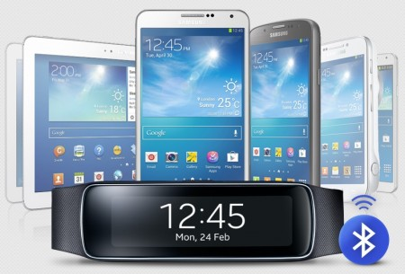 Samsung Gear Fit [źródło: Samsung]