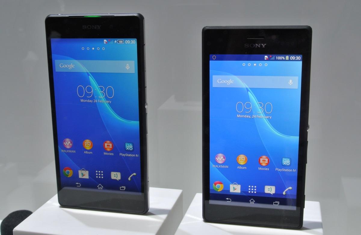 Sony Xperia Z2 i Xperia M2 / fot. galaktyczny