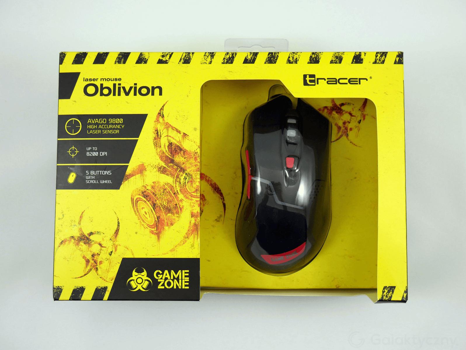 Tracer Oblivion - Pudełko