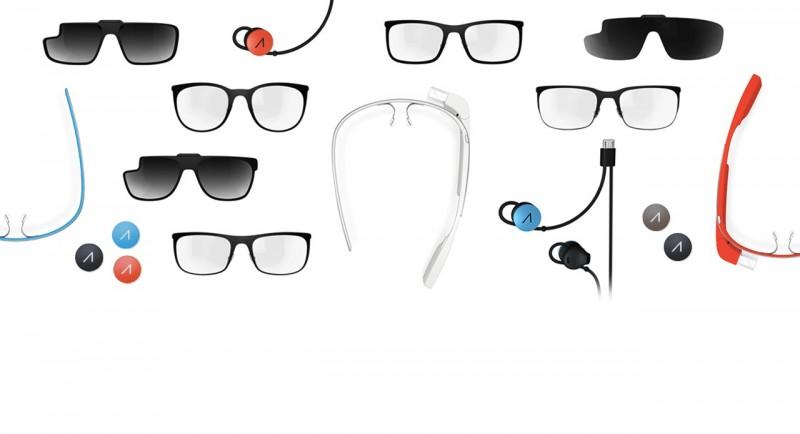 Google Glass - dostępne akcesoria