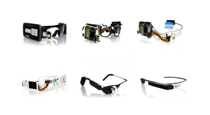 Google Glass - prototypy