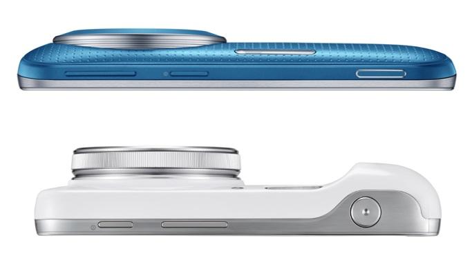 Samsung Galaxy K Zoom vs. Galaxy S4 zoom / fot. Samsung