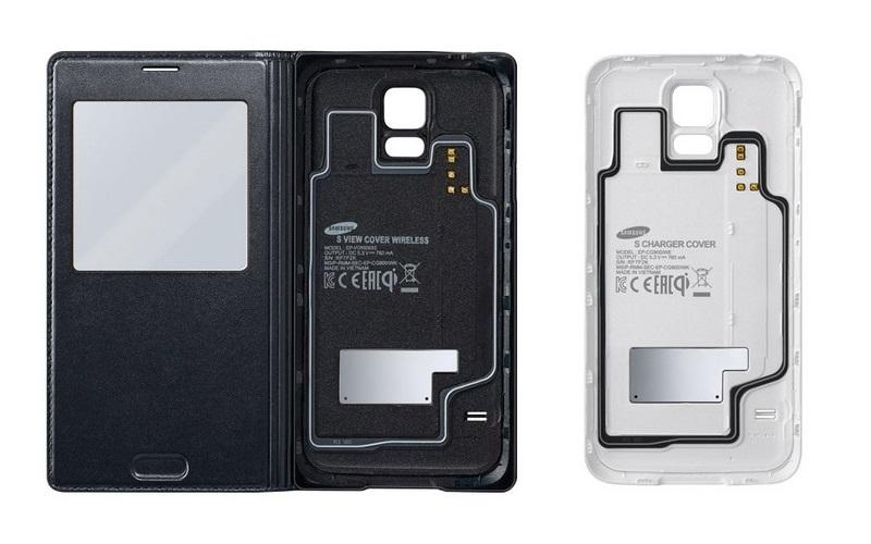 S View Cover i klapka do ładowania indukcyjnego / fot. Samsung