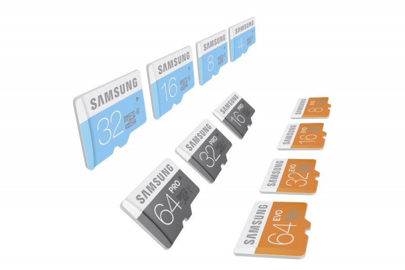 Nowe karty microSD Samsung / fot. Samsung