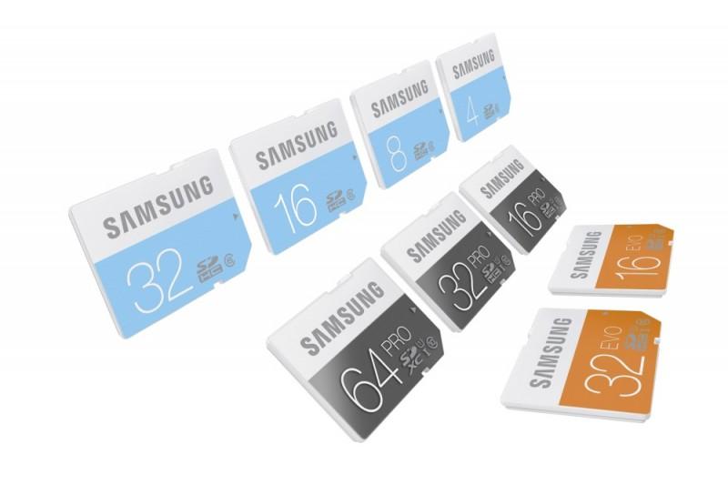 Nowe karty SD Samsung / fot. Samsung
