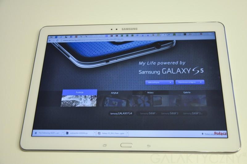 Samsung Galaxy Tab PRO - Remote PC / fot. galaktyczny