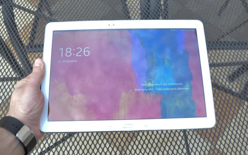 Samsung Galaxy Note PRO - przód / fot. galaktyczny