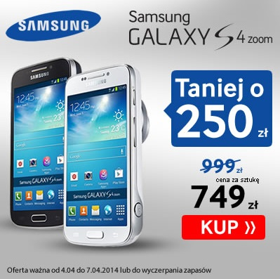 Promocja na Galaxy S 4 Zoom / fot. Sferis