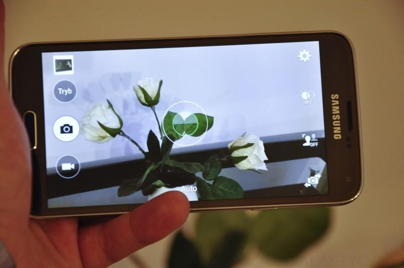 Samsung Galaxy S 5 - Aparat / fot. galaktyczny