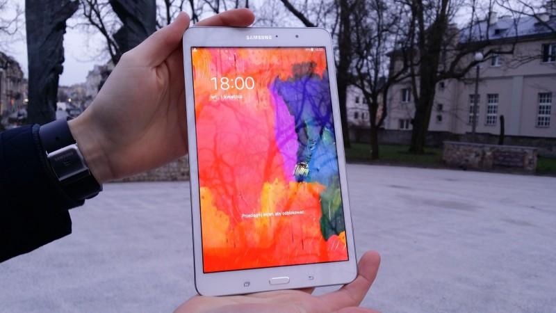 Samsung Galaxy Tab PRO 8.4 - Ekran / fot. galaktyczny.pl