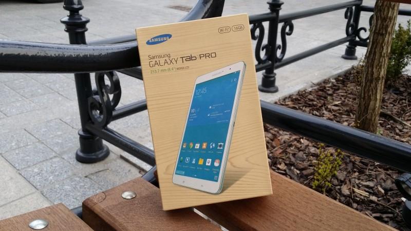 Samsung Galaxy Tab PRO 8.4 - opakowanie / fot. galaktyczny.pl