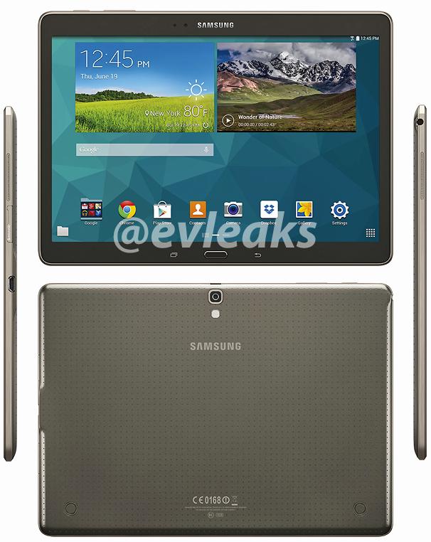 Galaxy Tab S 10.5 / fot. evleaks