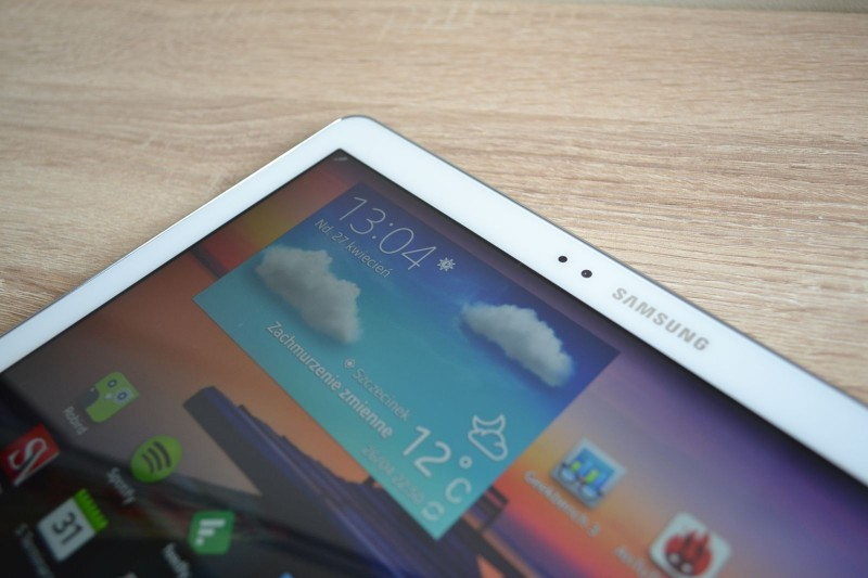 Samsung Galaxy Note 10.1 2014 Edition - ekran / fot. galaktyczny