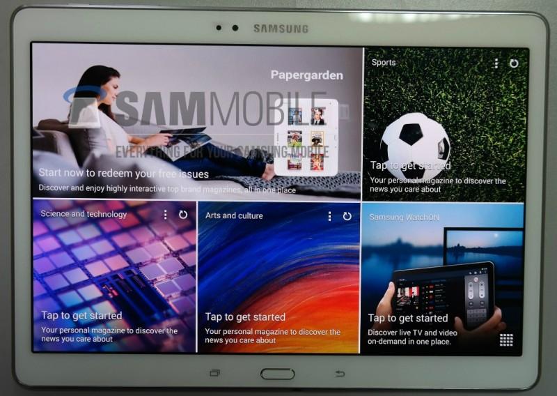 Galaxy Tab S 10.5 - przód / fot. SamMobile