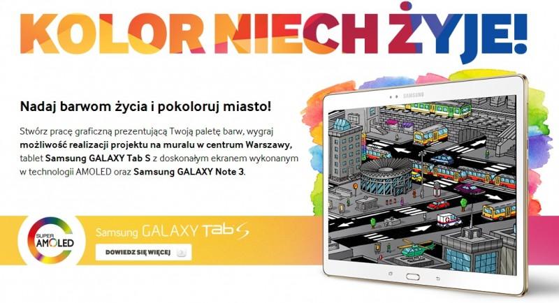 Kolor niech żyje! - Konkurs Samsung