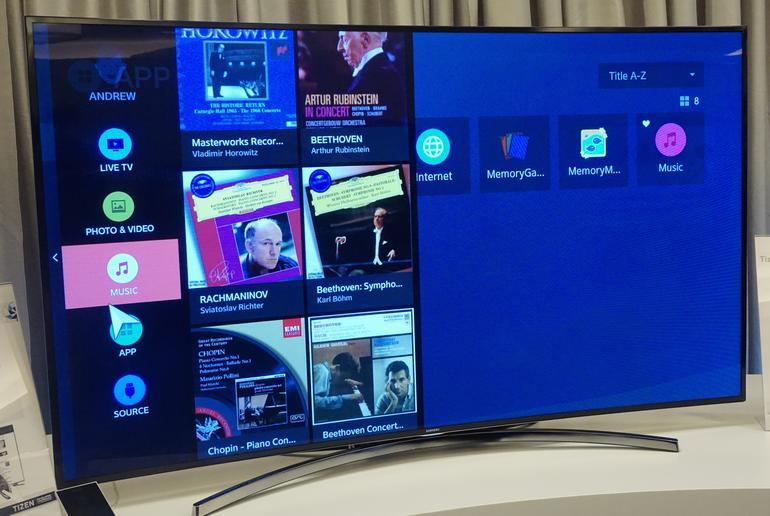 SmartTV z Tizenem
