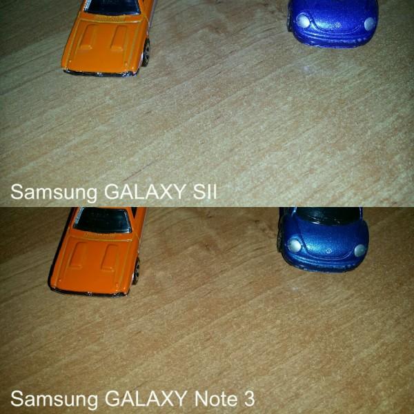 Galaxy S II i Galaxy Note 3 - porównanie zdjęć